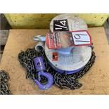 CM 1/4 Ton Chain Hoist, s/n 3263RV