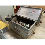 KWIK-WAY FL Cylinder Boring Machine, s/n na, w/ Gang box