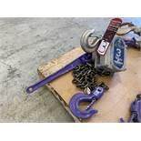 JET PULLER 3-Ton Lever Hoist, s/n 7A-3075