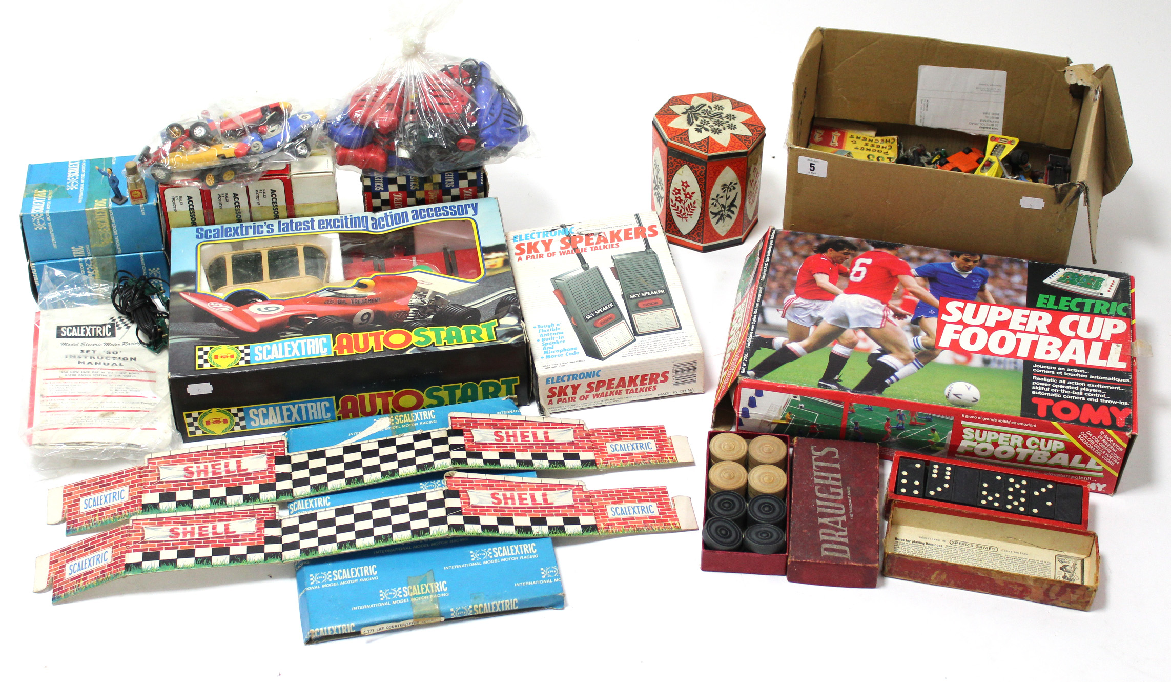 Lot 5 - Approximately twenty various die-cast scale models, all un-boxed; & various other toys.