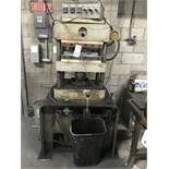 """19"""" x 18"""" Heated Platen Hydraulic Lab Press w/Engineered Control System & 3 Position Temperature"""
