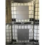 (2) Schutz 1650 KG (2,450LB.) IBC Tote Tanks