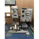 Mooney #NBS Viscometer w/Control Box & Dayton Single Phase Motor