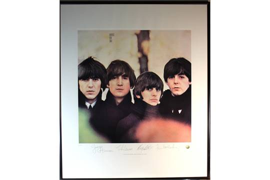 Beatles limited edition lithograph \'Beatles For Sale\' Apple ltd ...