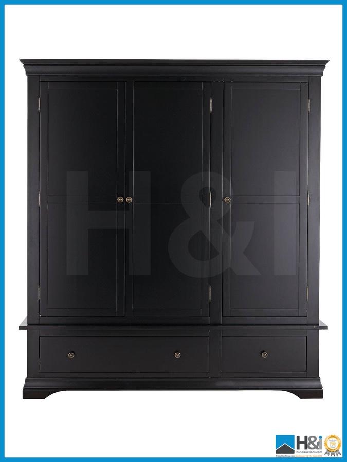 New In Box CONSTANCE SOLID OAK 3 DOOR 2 DRAWER WARDROBE  : original from www.bidspotter.co.uk size 675 x 900 jpeg 98kB