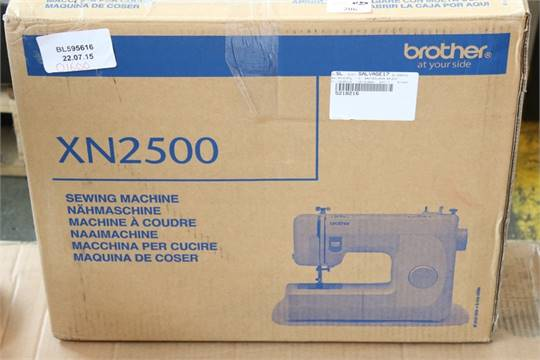 40 X BOXED BROTHER XN40 SEWING MACHINE 5956406 RRP 40634060 4040 Magnificent Brother Xn2500 Sewing Machine