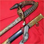 British Army 1822 pattern Corps Officer's sword & scabbard