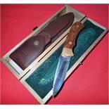 German-made knife & scabbard by Puma 6