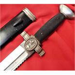 Nazi Germany Red Cross enlisted man's Hewer/dagger