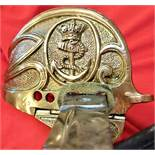 Royal Navy 1827 Pattern Royal Naval Officer's sword & scabbard
