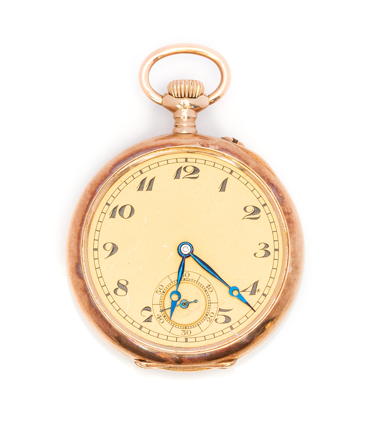 Lot 187 - IWC - International Watch Company, an early 20th Century lady's IWC 14kt gold fob watch, 2.