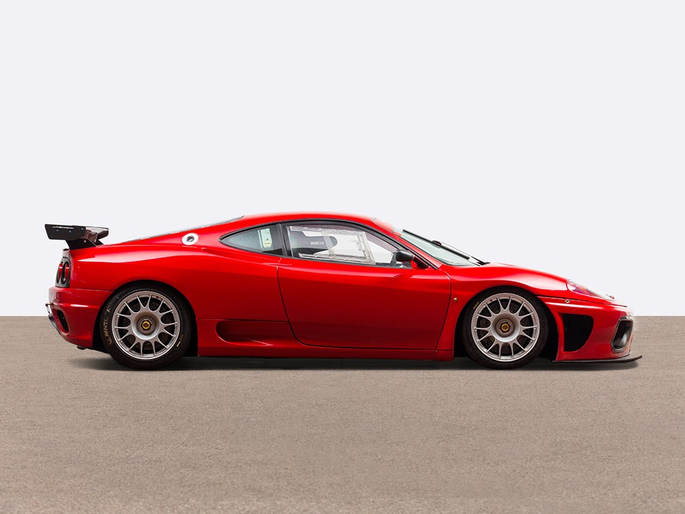 2001 Ferrari 360 N Gt Racing Car Ferrari 360n Gt Model