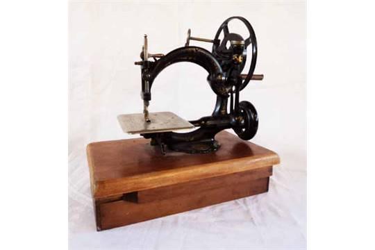 dating willcox & gibbs sewing machines