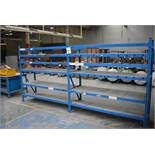 2 X BAYS OF STORES RACKING 2MTR 3 X FRAMES & 18 BEAMS