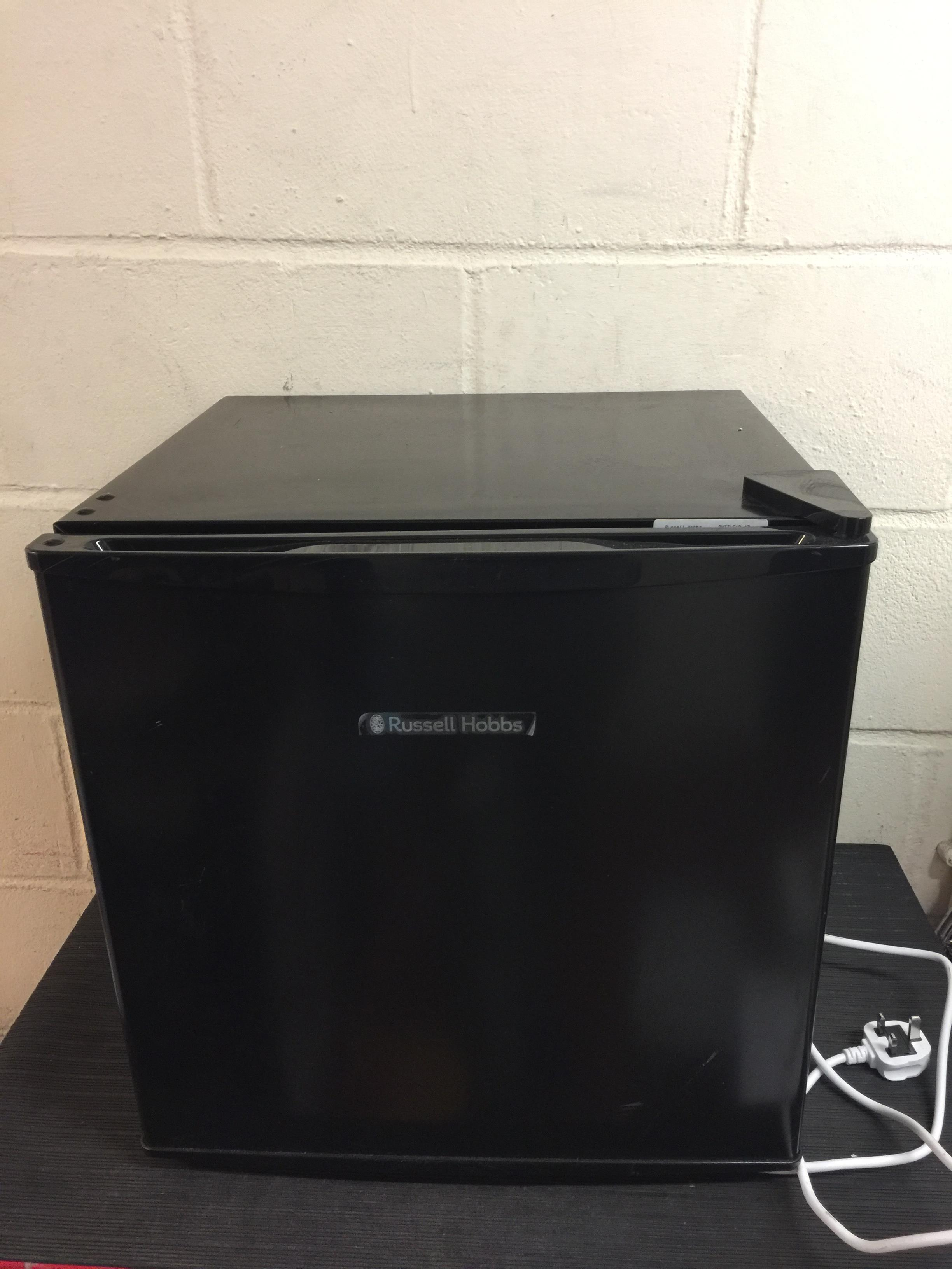 Lot 25 - Russell Hobbs RHTTLF1B 43L Table Top A+ Energy Rating Fridge Black