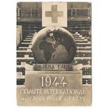 1944 COMITE INTERNATIONAL DE LA CROIX ROUGE GENEVE - POSTED 1944 PASSED BY CENSOR