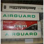 Air Filters -2Airguard 20x24x4; 1 Honeywell 20x20x4; 1 American 24x20x4