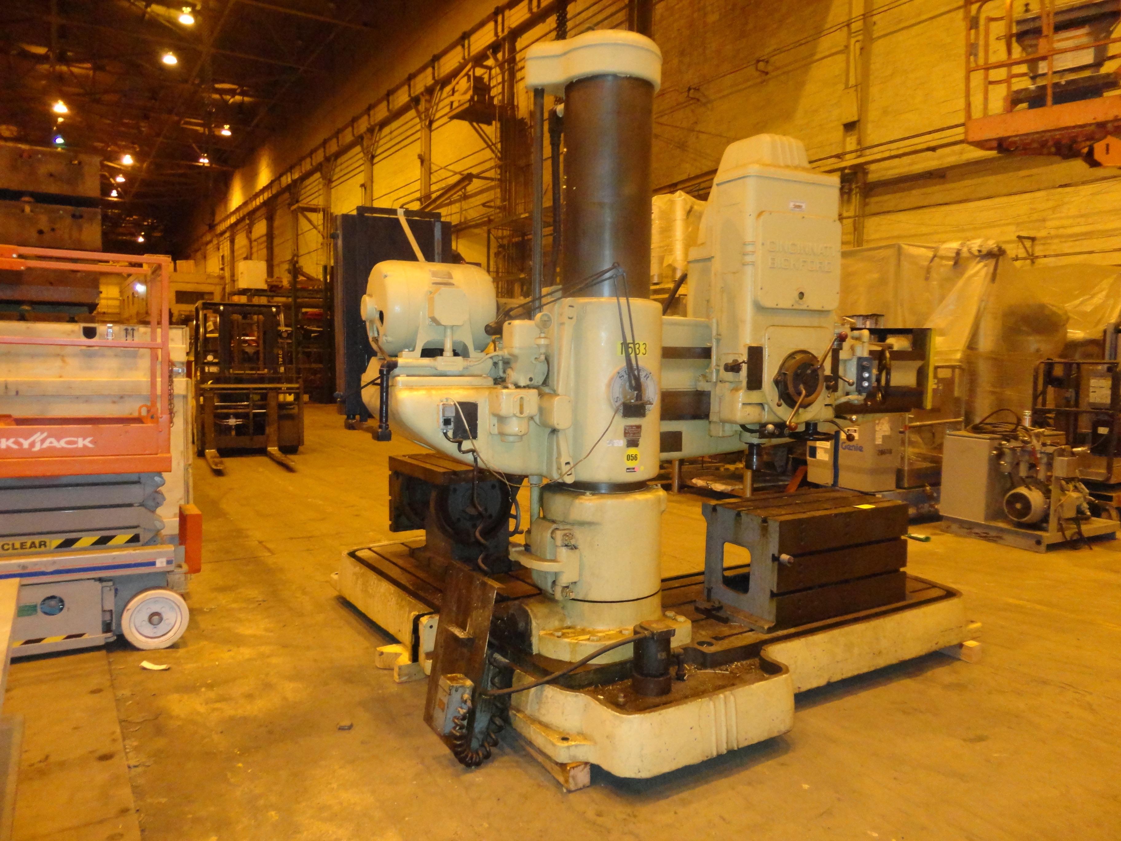 Lot 28 - Cincinnati Brickford Radial Drill