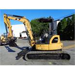2011 Caterpillar 305.5D CR Mini Hydraulic Excavator Loader