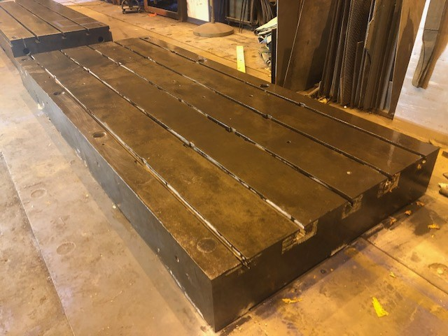 "Lot 49 - 12'x5'x12"" T Slotted Floor Plate"
