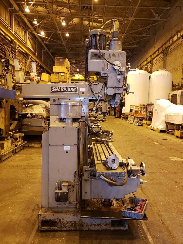 2004 Sharp VH3 Vertical Horizontal Mill - Image 5 of 14