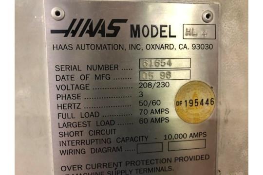 Haas HL4 CNC Lathe Milling Machine - Image 4 of 4