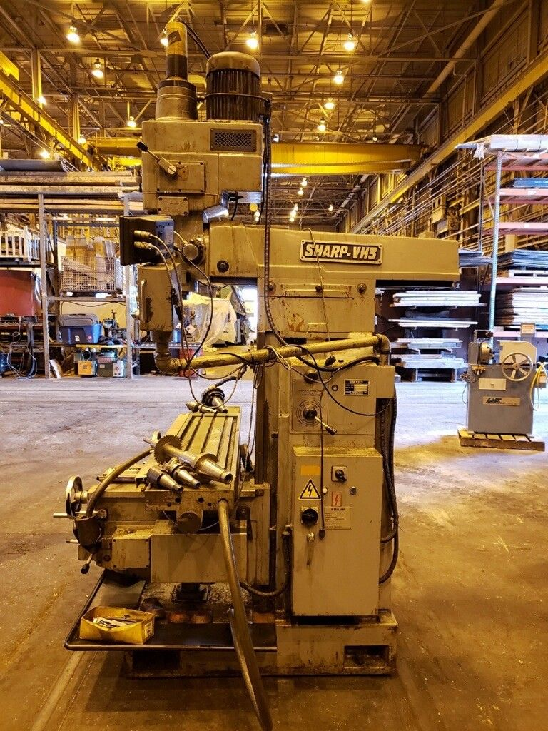 2004 Sharp VH3 Vertical Horizontal Mill - Image 4 of 14
