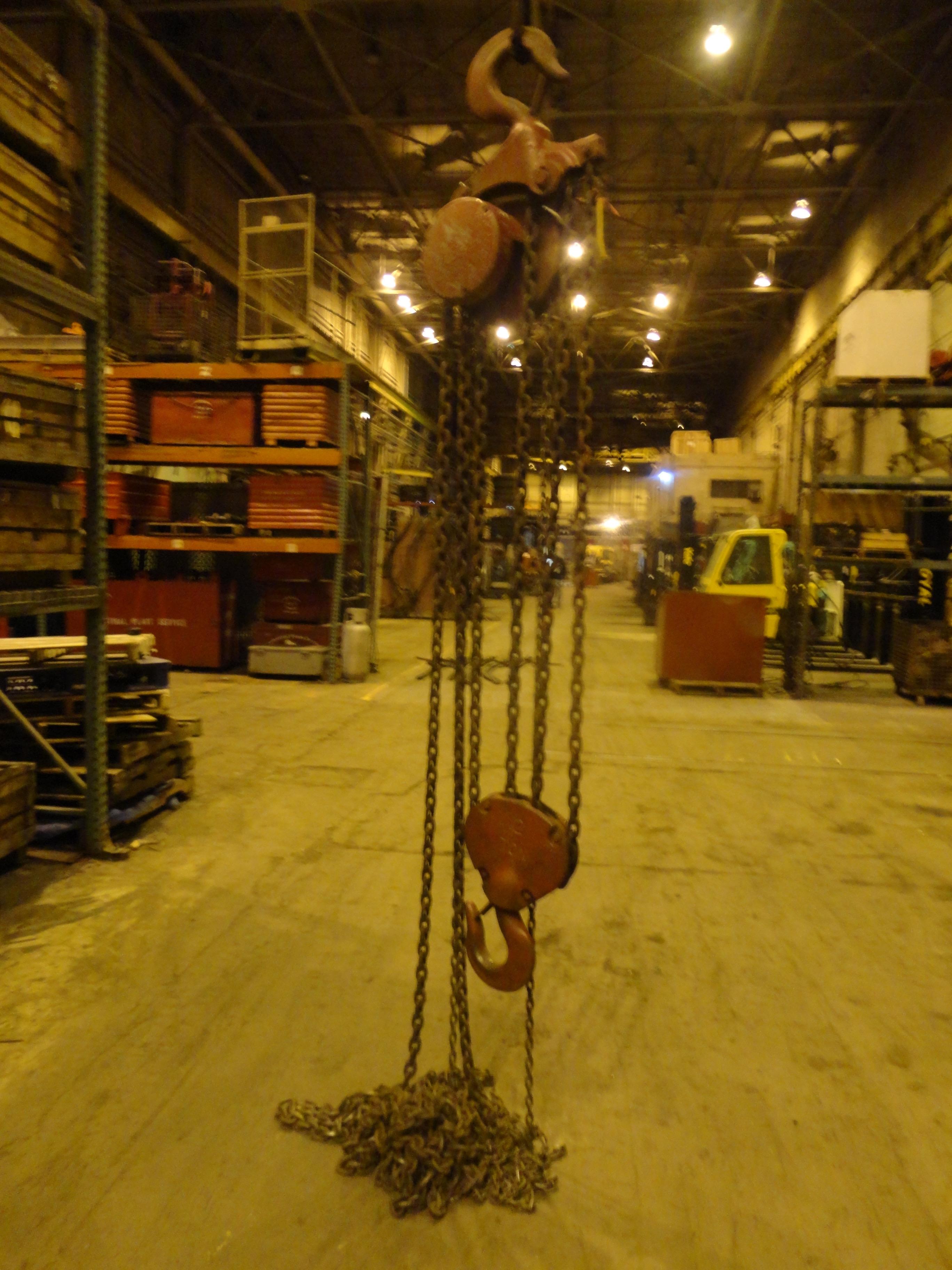 Lot 15 - 12 Ton Yale Chain Hoist (#15)