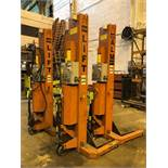 Lot of 4 ALM Portable Truck Jacks 18,000 lbs cap