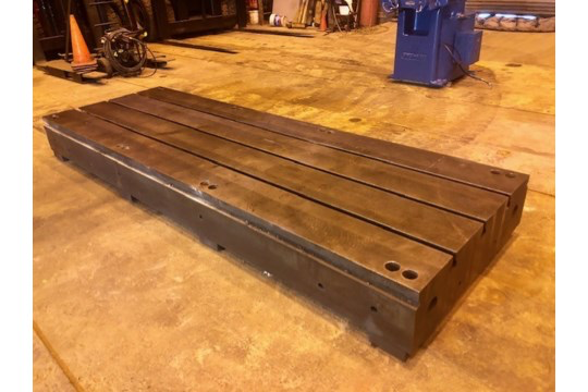 T Slotted Floor Plate 144x48x12.5 - Image 5 of 5