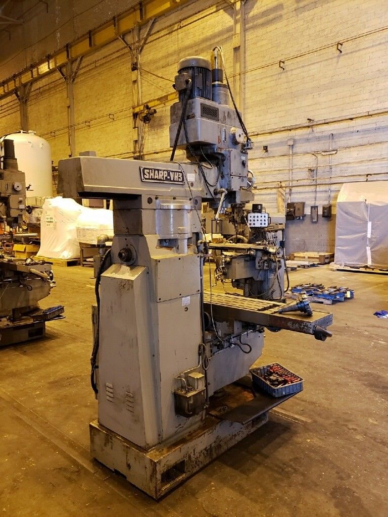 2004 Sharp VH3 Vertical Horizontal Mill - Image 6 of 14