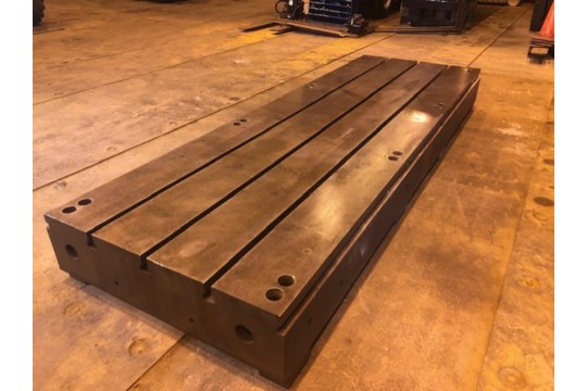 T Slotted Floor Plate 144x48x12.5 - Image 2 of 5