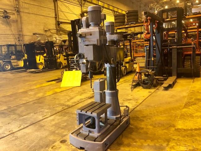 Lot 27 - Enco DSR 750S Radial Drill Milling Machine