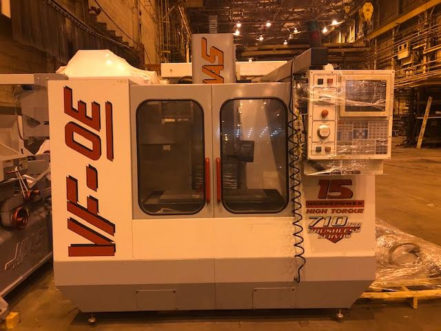 Haas CNC Vertical Milling Machine