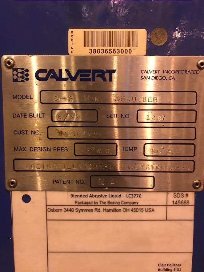 Calvert Dust Removal Machine - Image 4 of 4