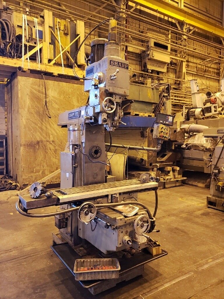 2004 Sharp VH3 Vertical Horizontal Mill - Image 2 of 14