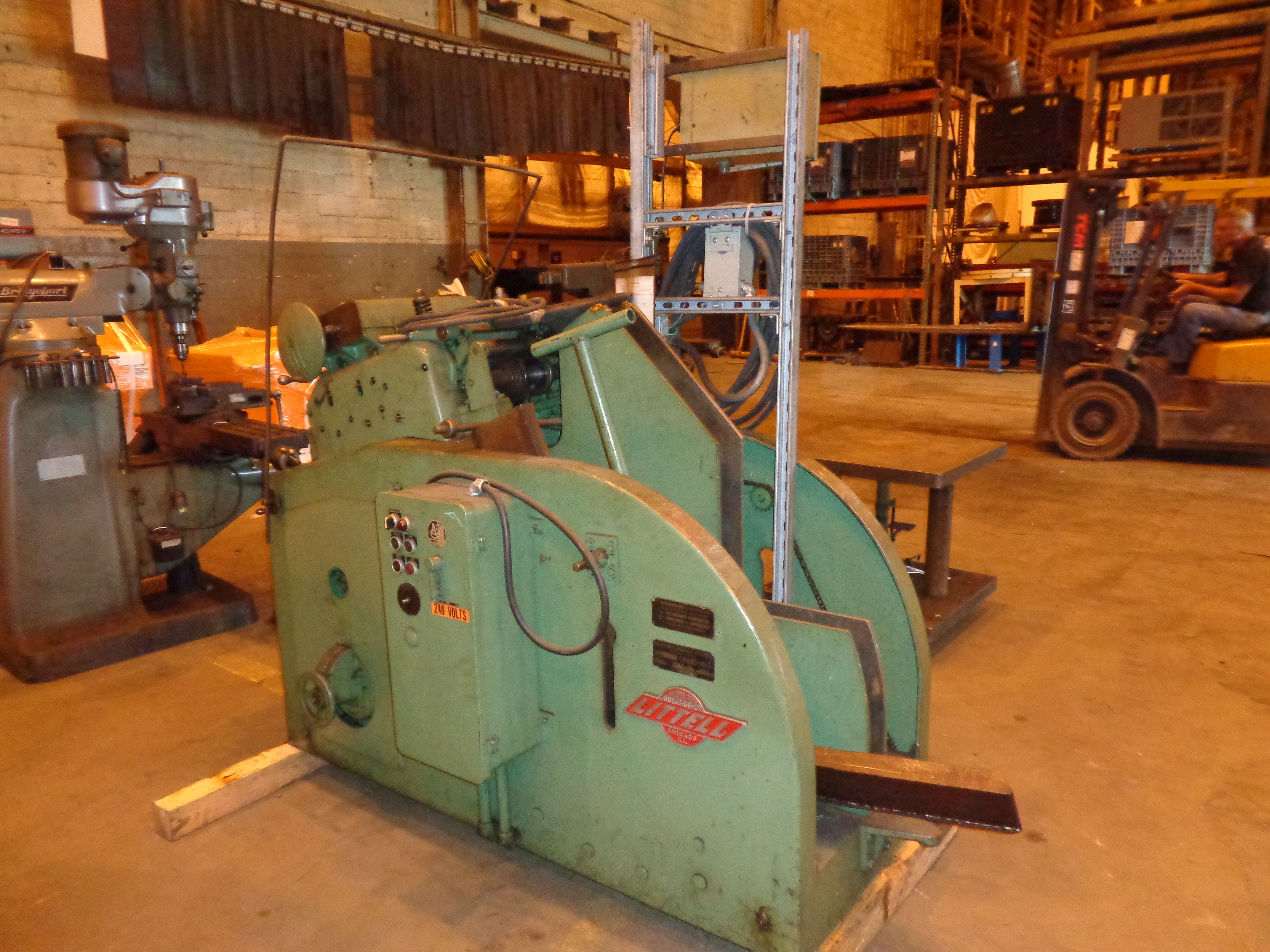Lot 19 - Littell Continuous Steel Coil Straightening Machine