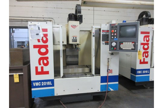 2000 Fadal VMC 2016L CNC Vertical Mill Machining Center