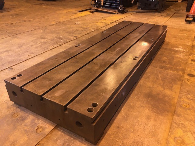 Lot 47 - T Slotted Floor Plate 144x48x12.5