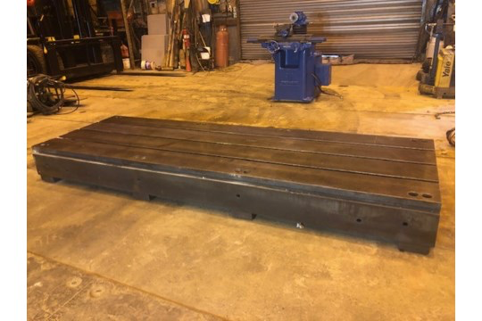 T Slotted Floor Plate 144x48x12.5 - Image 4 of 5