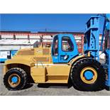 2009 Omega 2430 30,000 lbs Rough Terrain 4x4 Forklift Only 373 Hours