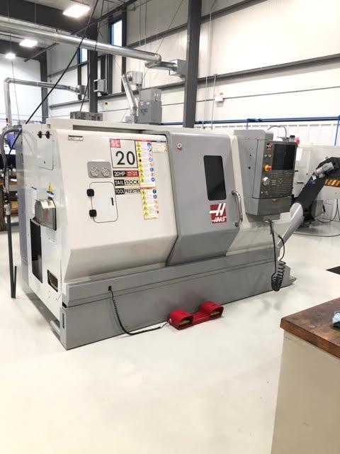 2009 Haas SL-20T CNC Lathe Milling Machine
