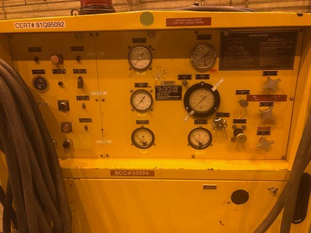 Lot 18d - ACL Aircraft Hydraulic Test Stand