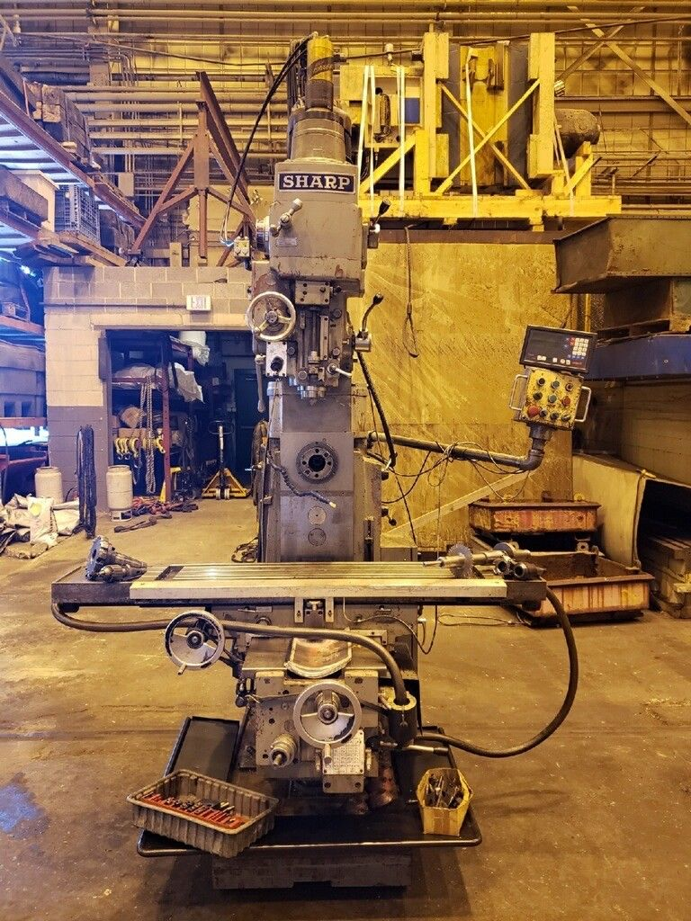2004 Sharp VH3 Vertical Horizontal Mill - Image 7 of 14