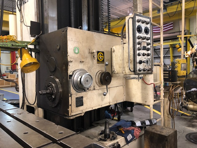 Lot 37 - 5in Giddings and Lewis Horizontal Boring Mill
