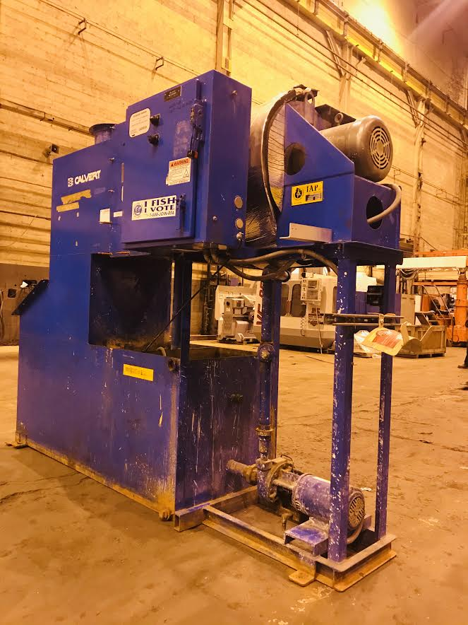 Lot 22 - Calrvert Dust Removal Machine