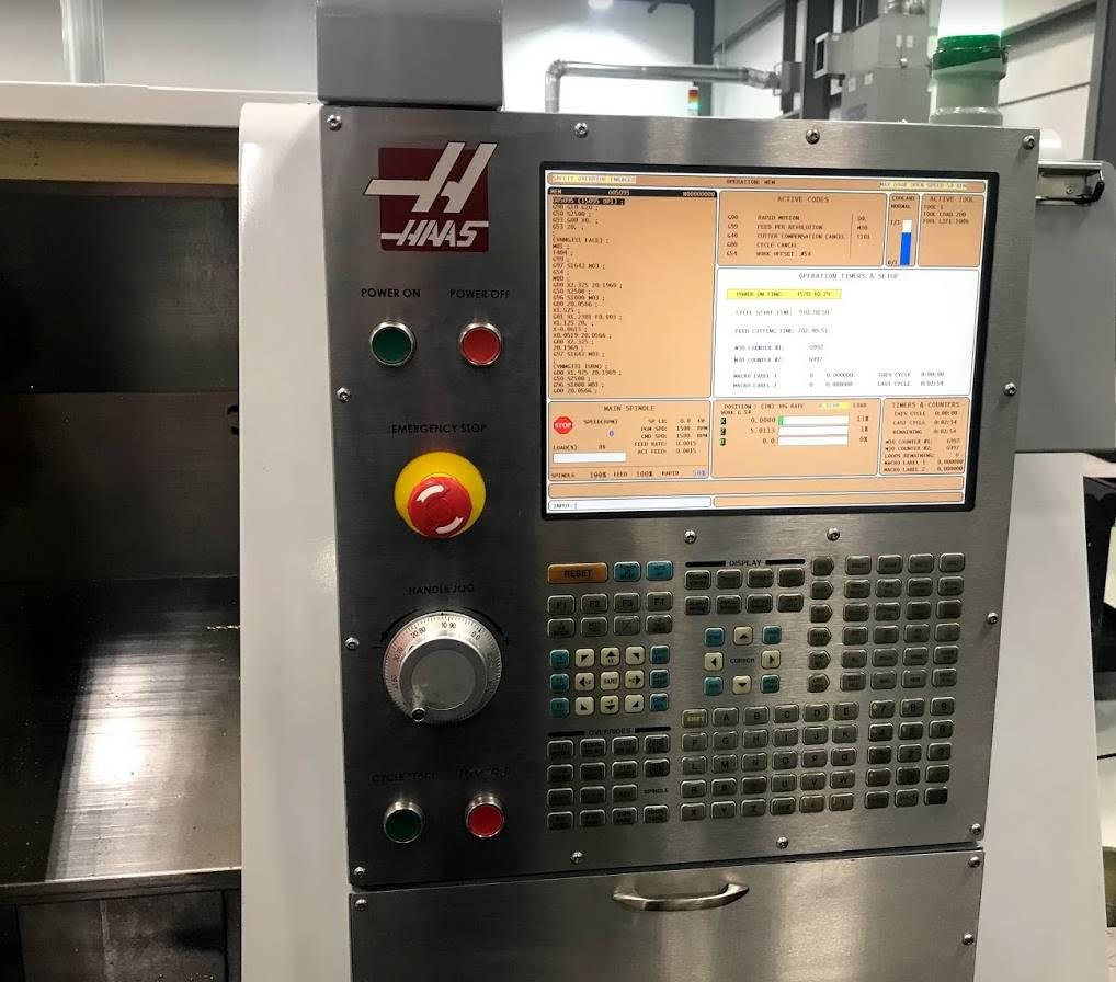 2009 Haas SL-20T CNC Lathe Milling Machine - Image 9 of 12