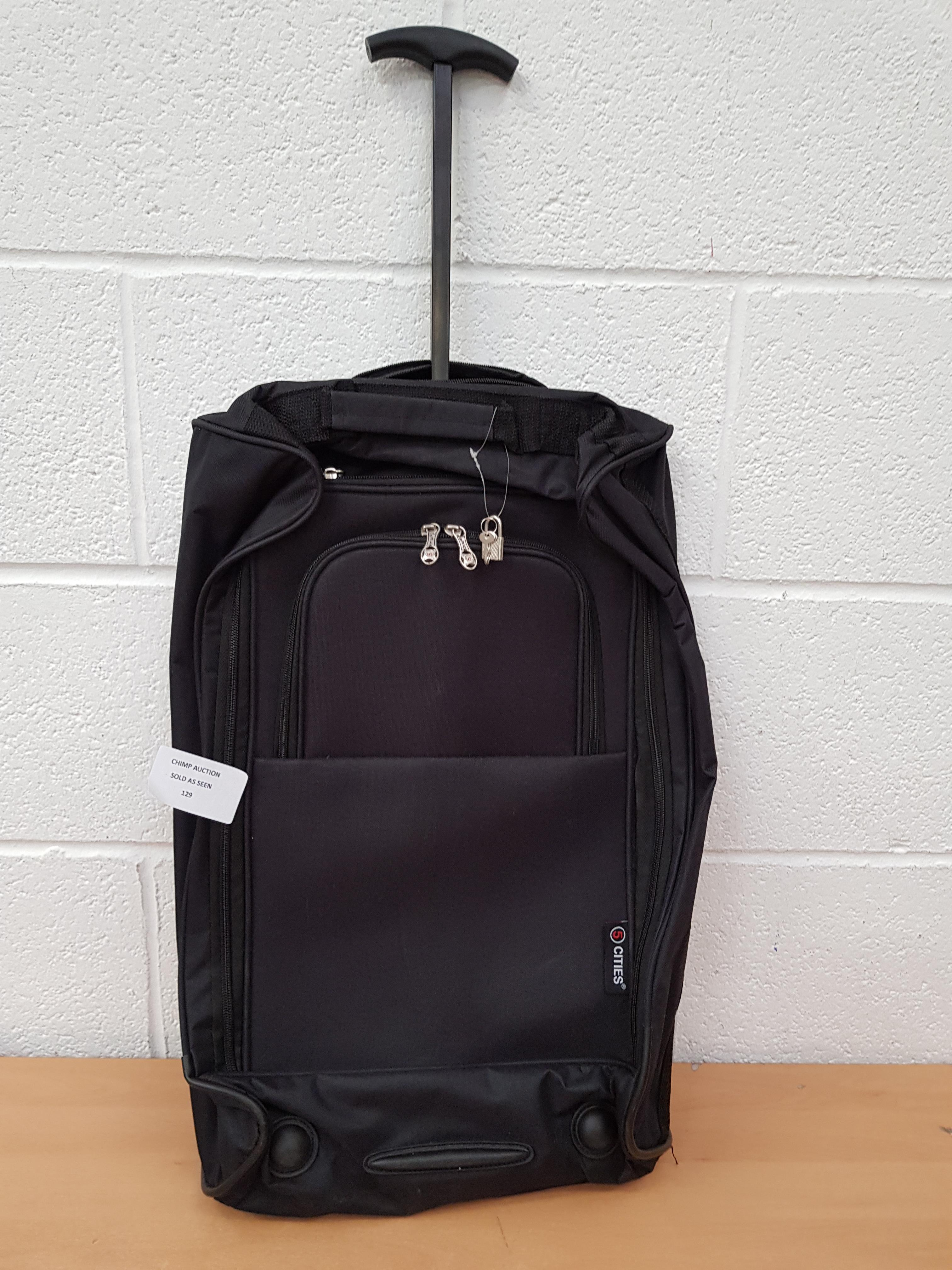 Lotto 129 - Cities 5 Travel Baggage
