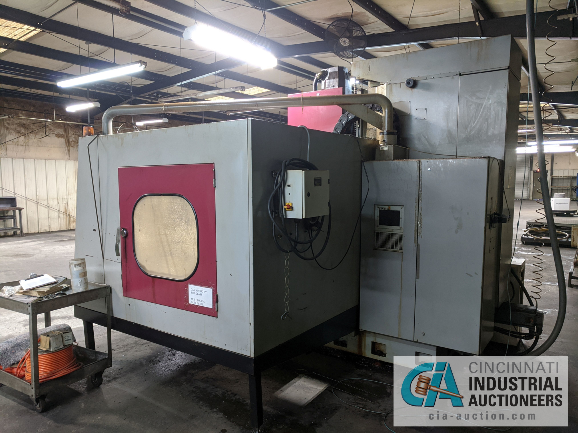 (Former lot 31) JOHNFORD MODEL VMC1620 CNC VMC; S/N F6052 (NEW 1996), Magnetic Chuck Not Included - Image 6 of 16