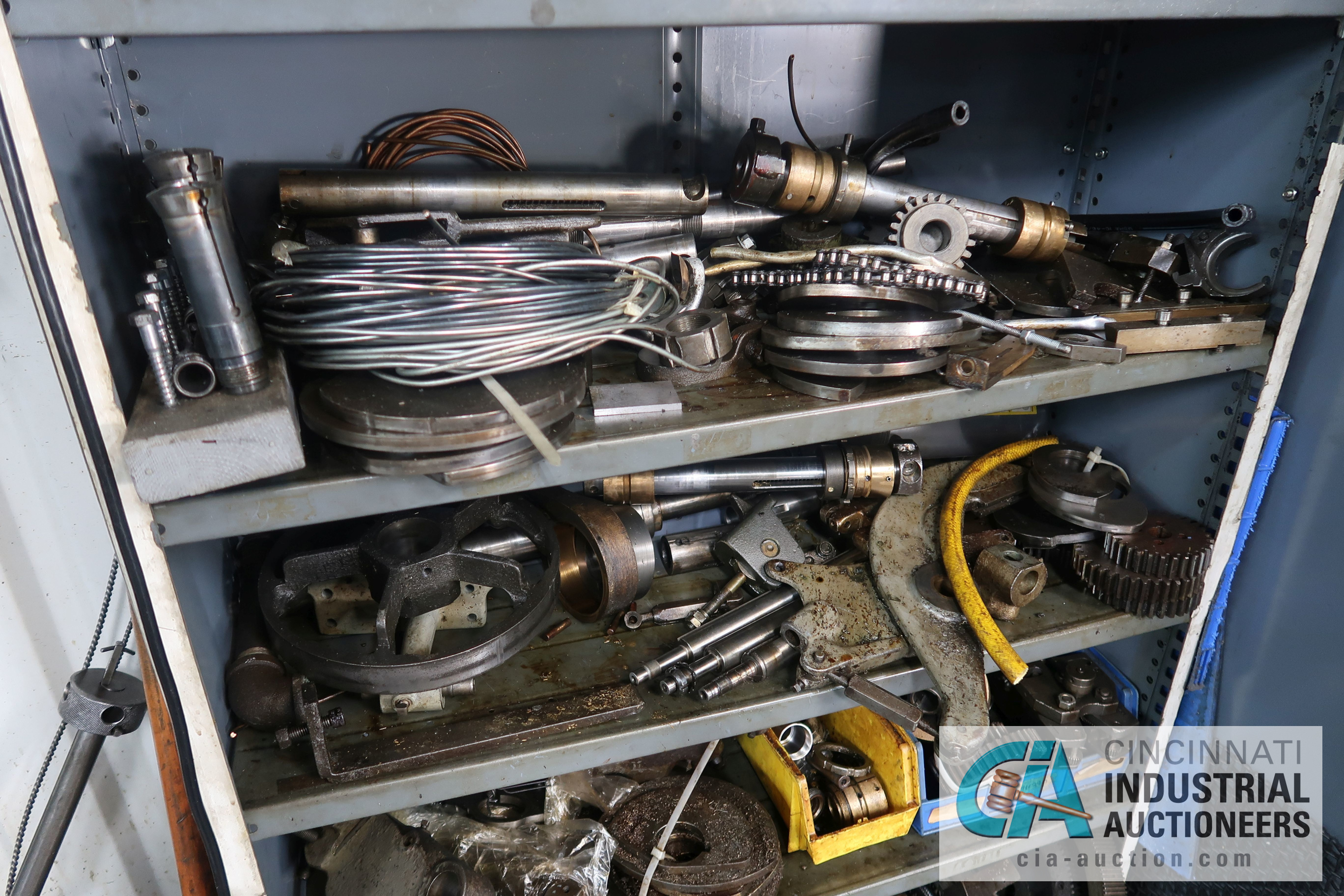 (LOT) LARGE ASSORTMENT MISCELLANEOUS DAVENPORT TOOLING, ATTACHMENTS, GEARS, CAMS AND OTHER RELATED - Image 14 of 21